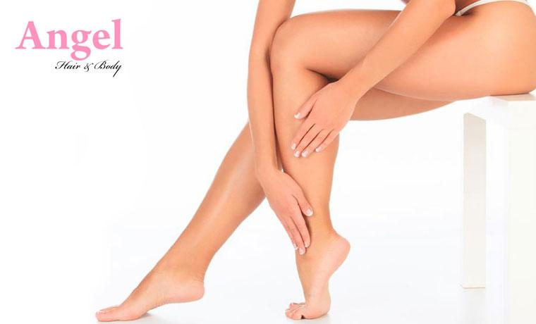 Αποτρίχωση με Υποαλλεργικό κερί μιας χρήσεως, σε Full Πόδια και γραμμή Bikini