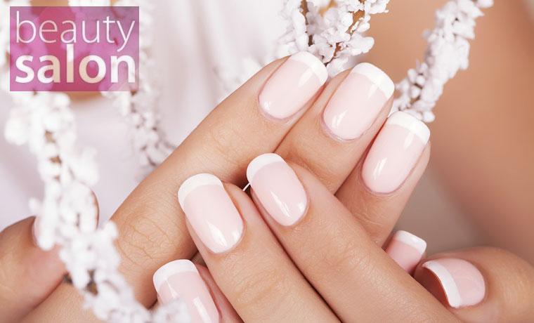Τέσσερα Ημιμόνιμα Manicure με απλό χρώμα