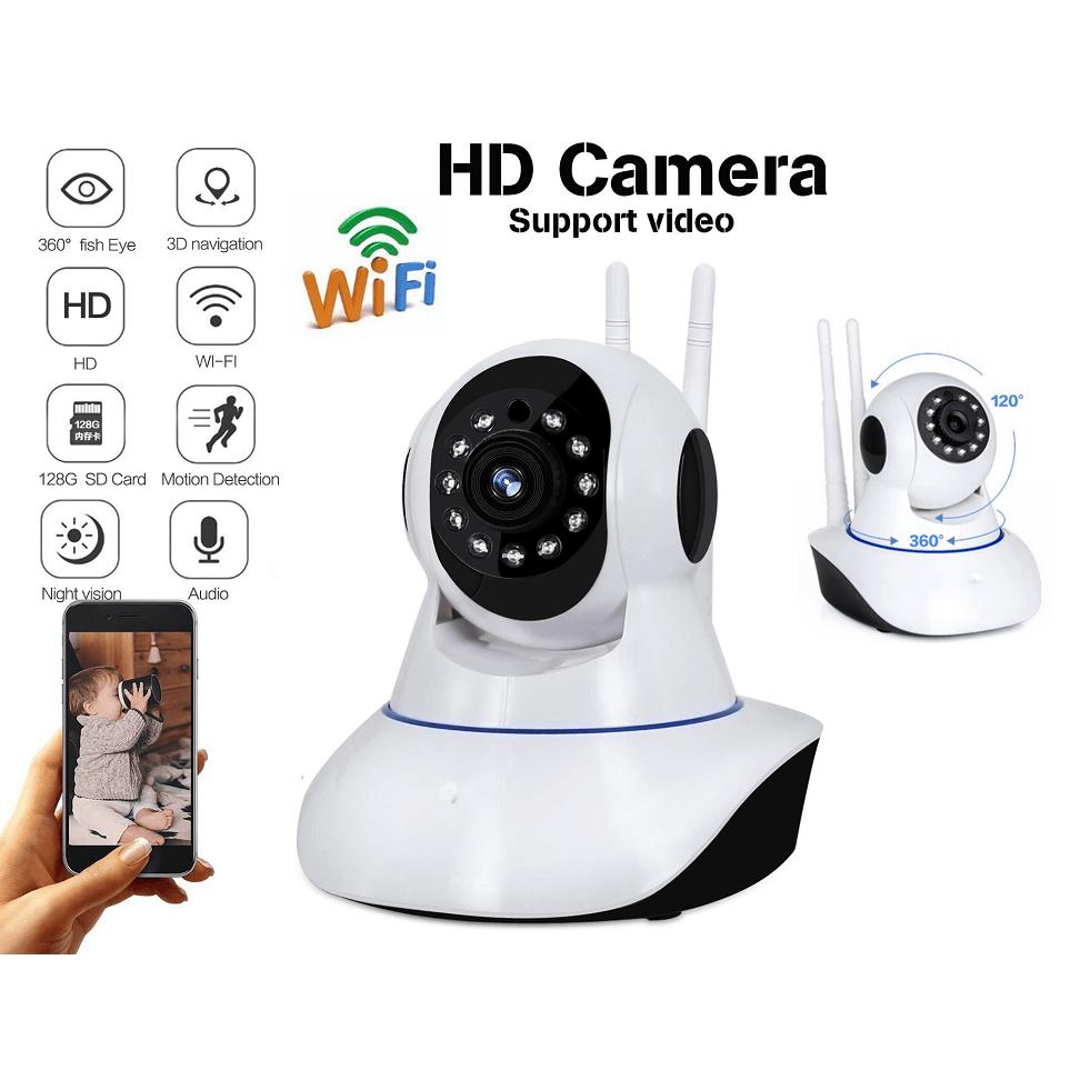 Έγχρωμη Ρομποτική IP Κάμερα WIFI με Νυχτερινή Λήψη έως 10m
