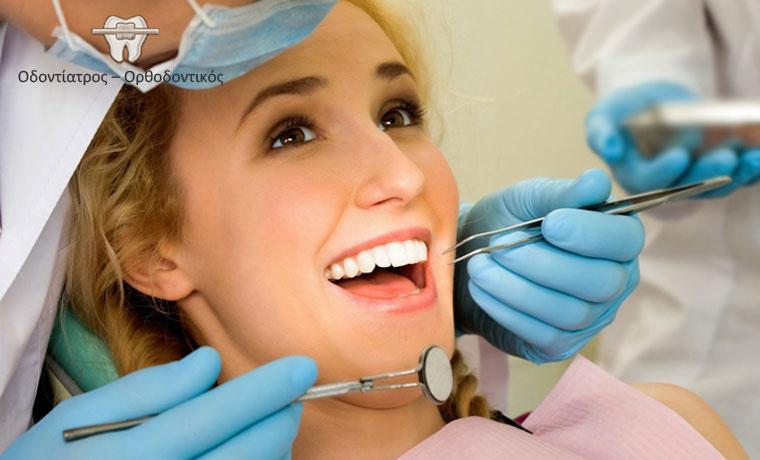 Πλήρης Καθαρισμός Δοντιών, με αφαίρεση πέτρας, λείανση και γυάλισμα (στίλβωση) με ελβετικό υπέρηχο