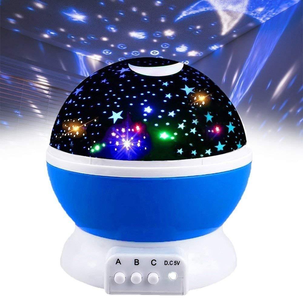 Διακοσμητικός Προβολέας Δωματίου – Star Master Plus