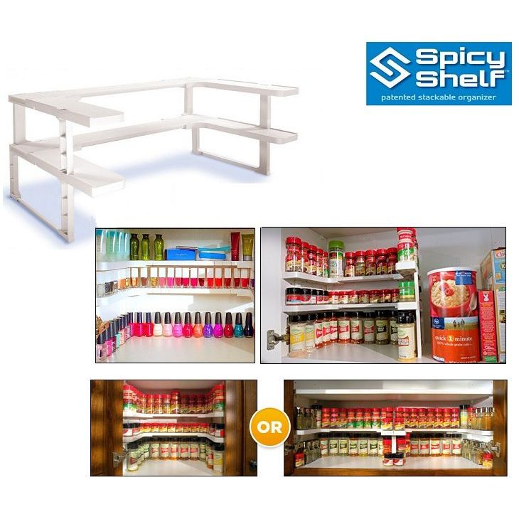 Διοργανωτής Μπαχαρικών-Spicy Shelf