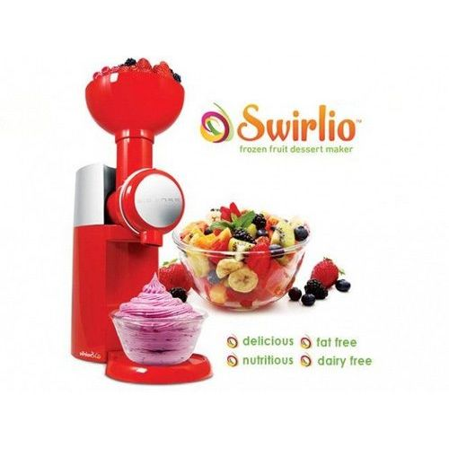 BIG BOSS SWIRLIO για Σορμπέ Φρούτων, Φrozen Υogurt και Γρανίτες στο Λεπτό