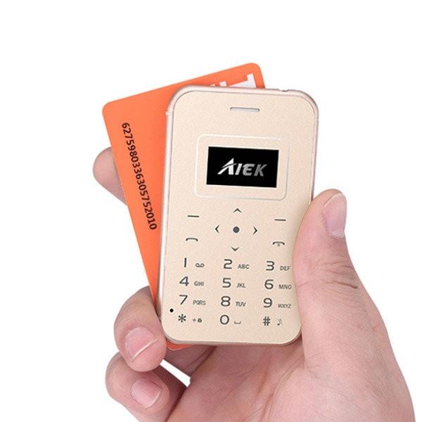 Ultra Mini Κινητό Τηλέφωνο σε Μέγεθος Πιστωτικής Κάρτας – X8