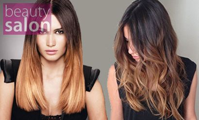 Ombre Hair ή balayage